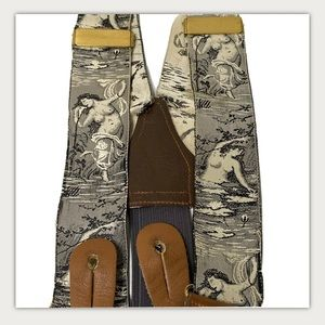 Royal New York TopLess Lady Tapestry Suspenders